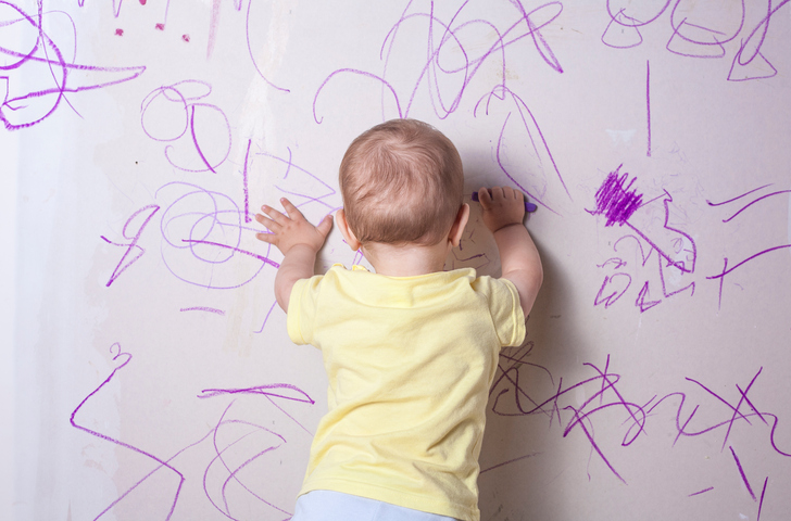 Home Cleaning Tips for Cleaning Crayon Off Walls